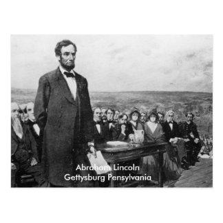 Pennsylvania Abraham Lincoln Gettysburg Postcard