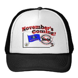Pennsylvania Anti ObamaCare – November's Coming! Cap