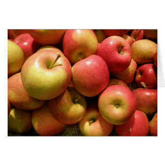 Pennsylvania Apples Note Card