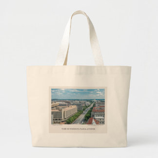 Pennsylvania Avenue-Tote Large Tote Bag