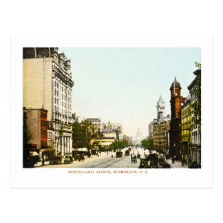 Pennsylvania Avenue, Washington D.C. Postcard