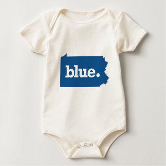 PENNSYLVANIA BLUE STATE BABY BODYSUIT