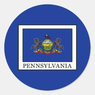 Pennsylvania Classic Round Sticker