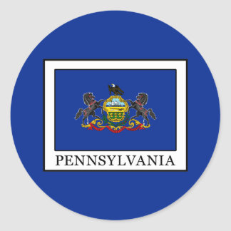 Pennsylvania Classic Round Sticker
