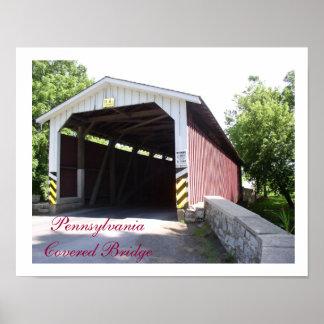 Pennsylvania Covered Bridge Posters