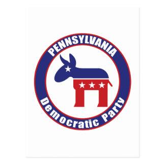 Pennsylvania Democratic Party Postcard