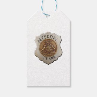 Pennsylvania Detective Gift Tags