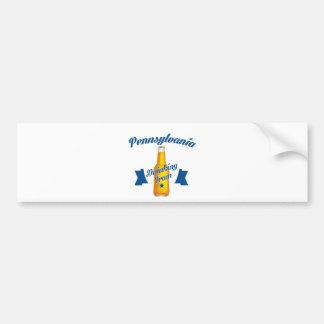 Pennsylvania Drinking team Bumper Sticker