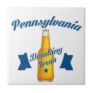 Pennsylvania Drinking team Ceramic Tile