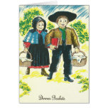 Pennsylvania Dutch Dinner Basket Recipe Red Beets Greeting Cards