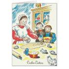 Pennsylvania Dutch Moravian Cookies Sugar Cakes Card