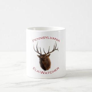 Pennsylvania Elk-Watcher Basic White Mug