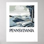 Pennsylvania Farm 1938 WPA Posters