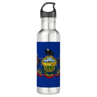 Pennsylvania Flag 710 Ml Water Bottle