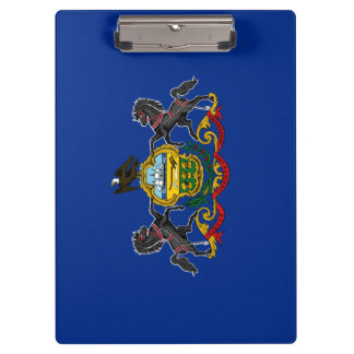 Pennsylvania Flag Clipboard