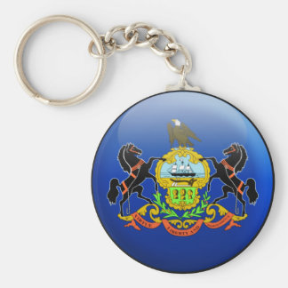 Pennsylvania Flag Key Ring