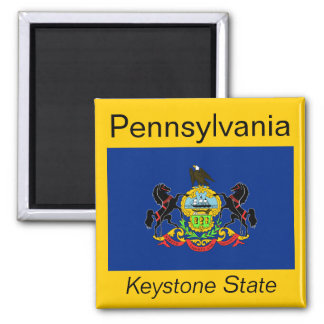 Pennsylvania Flag Magnet