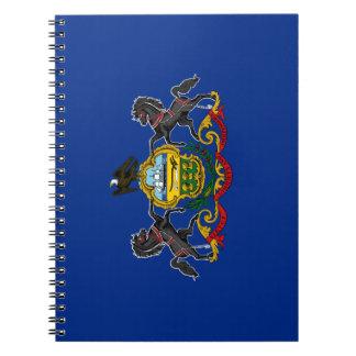 Pennsylvania Flag Notebook