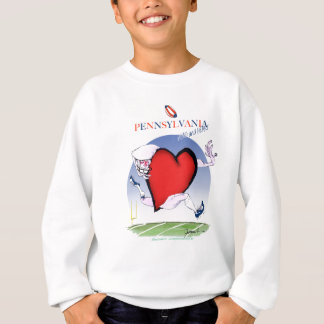pennsylvania head heart, tony fernandes sweatshirt
