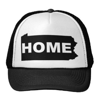 Pennsylvania Home Away From State T-Shirt Cap