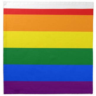 Pennsylvania LGBT Flag Map Napkin