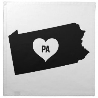 Pennsylvania Love Napkin