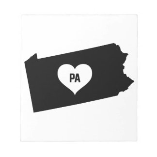 Pennsylvania Love Notepad