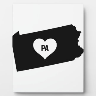 Pennsylvania Love Plaque