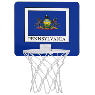 Pennsylvania Mini Basketball Hoop