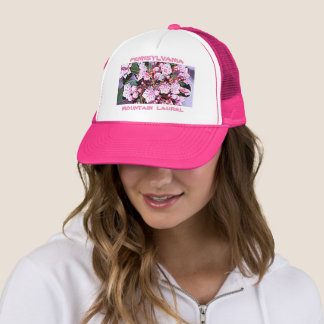 Pennsylvania Mountain Laurel Trucker Hat