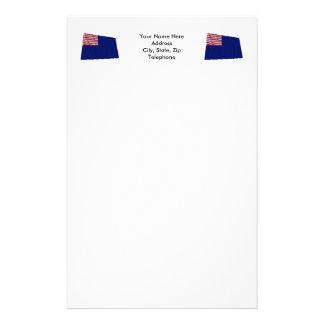 Pennsylvania Navy Flag Stationery Design