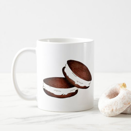Pennsylvania PA Dutch Maine Chocolate Whoopie Pie Coffee Mug