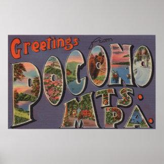 Pennsylvania - Pocono Mountians 2 Poster