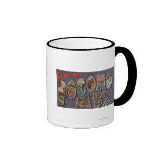 Pennsylvania - Pocono Mountians Coffee Mugs