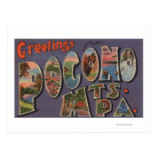 Pennsylvania - Pocono Mountians Postcard
