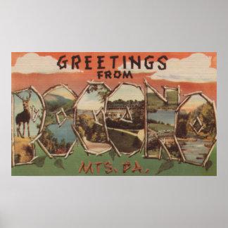 Pennsylvania - Pocono Mountians Posters