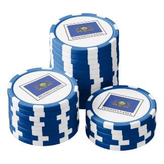 Pennsylvania Poker Chips