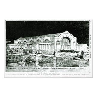 Pennsylvania Railroad 30th Street Station Photo Print