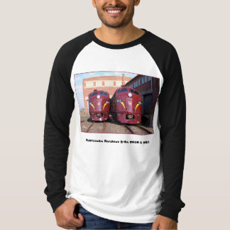 Pennsylvania Railroad E-8a,s (JTFS) 5809 and 5811 Tee Shirt