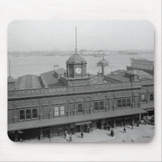 Pennsylvania Railroad Ferry Terminal Phila. Pa Mouse Pad