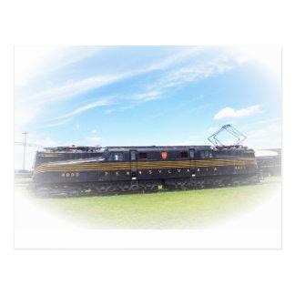 Pennsylvania Railroad GG1 #4800 Side View Postcard