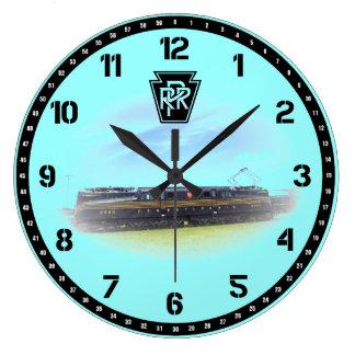 Pennsylvania Railroad GG-1 #4800 Side View Clock