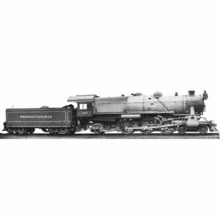 Pennsylvania Railroad K-4s Locomotives Photo Sculpture Button
