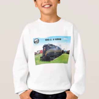 Pennsylvania Railroad Locomotive GG-1 #4800 -2- Sweatshirt