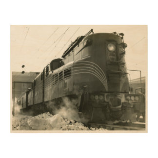 Pennsylvania Railroad Locomotive GG-1 #4800 Wood Wall Decor