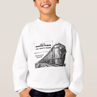 Pennsylvania Railroad Modern Train Power Sweatshirt