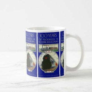 Pennsylvania Railroad Progress Coffee Mug