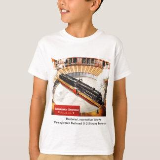 Pennsylvania Railroad Steam Turbine  Kid Shirts