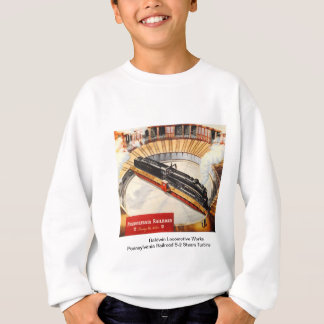 Pennsylvania Railroad Steam Turbine Kid shirts