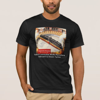 Pennsylvania Railroad Steam Turbine T-shirts